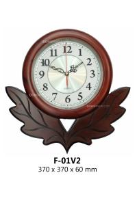 Đồng hồ treo tường gỗ cao cấp, tô điểm tổ ấm Việt  F01v2%20GP