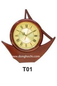 Đồng hồ treo tường gỗ cao cấp, tô điểm tổ ấm Việt  T01%20GP