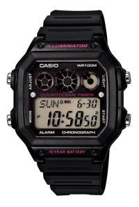 AE-1300WH-1A2VDF đồng hồ Casio Digital