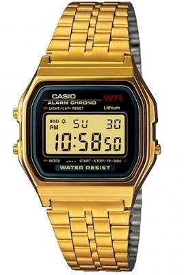A159WGEA-1DF đồng hồ phi giới tính casio Gold a159