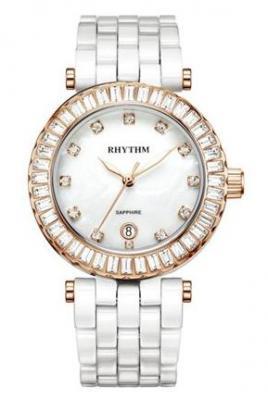 C1104-C02 đồng hồ đeo tay nữ Ceramic Rhythm