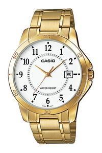 mtp-v004g-7budf đồng hồ casio nam vàng