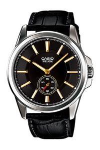 MTP-E101L-1AV đồng hồ 2 kim rười casio