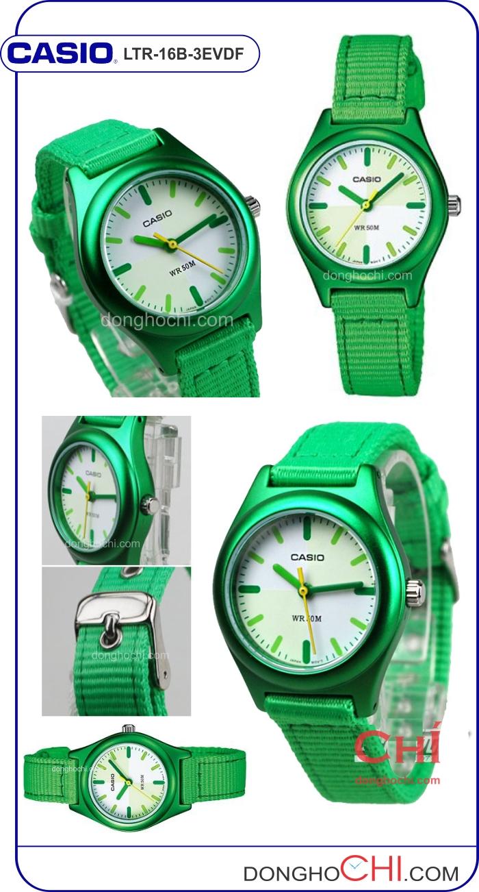 casio LTR 16B 3EVDF full Chọn lựa đồng hồ trẻ em hợp cho bé