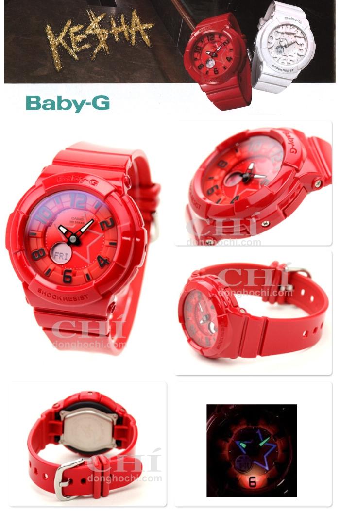 dong ho  baby-G BGA-133-4BHDR do